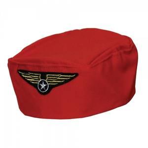 Bilde av Flyvertinne hatt rød
