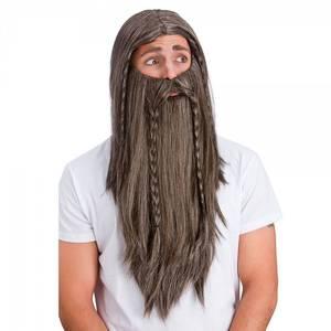 Bilde av Parykk og langt skjegg
