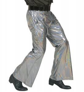 Bilde av Sølv Disco bukser herre