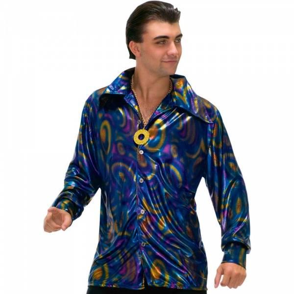 70's Disco skjorte - kostyme