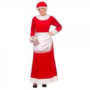 Bilde av Deluxe Mrs. Santa kostyme