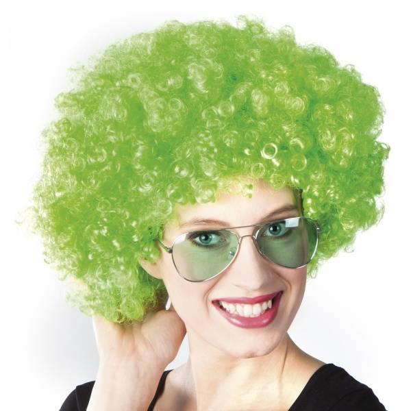 Funky afro grønn