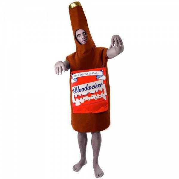 Bloodweiser Beer Bottle kostyme