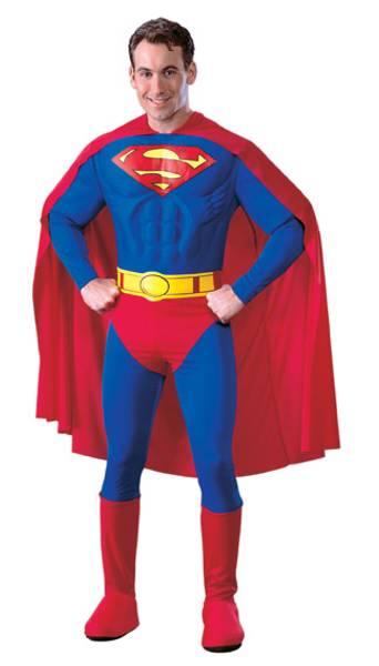 Superman DLX kostyme
