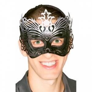 Bilde av Black Filigree maske