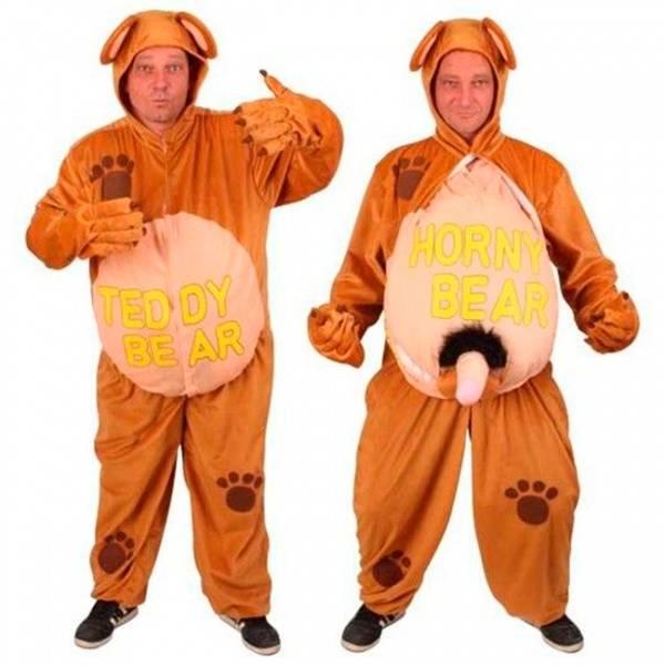 Frekk Teddy Bear kostyme