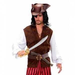 Bilde av Pirat skjorte/vest - kostyme