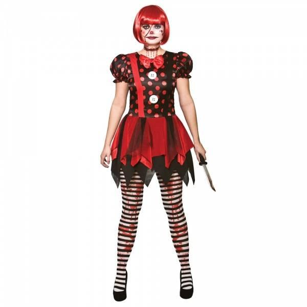 Horror Clown kostyme