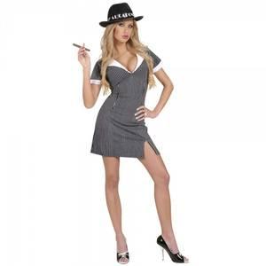 Bilde av Gangster girl kostyme