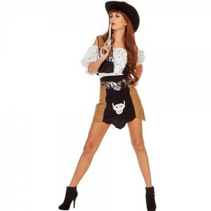 Bilde av Cowgirl Buffalo - kostyme