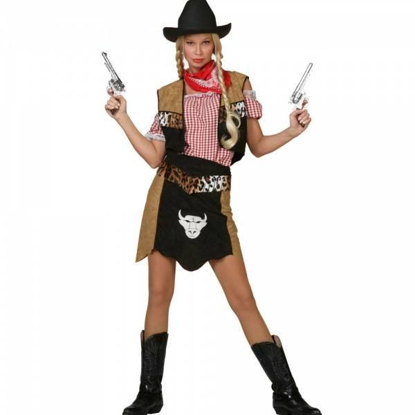 Cowgirl Buffalo - kostyme