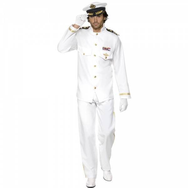 Hvit Kaptain uniform