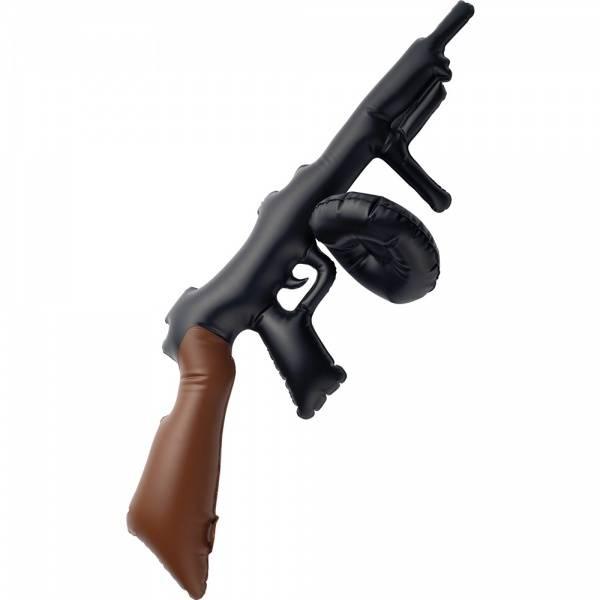 Oppblåsbar Tommy Gun