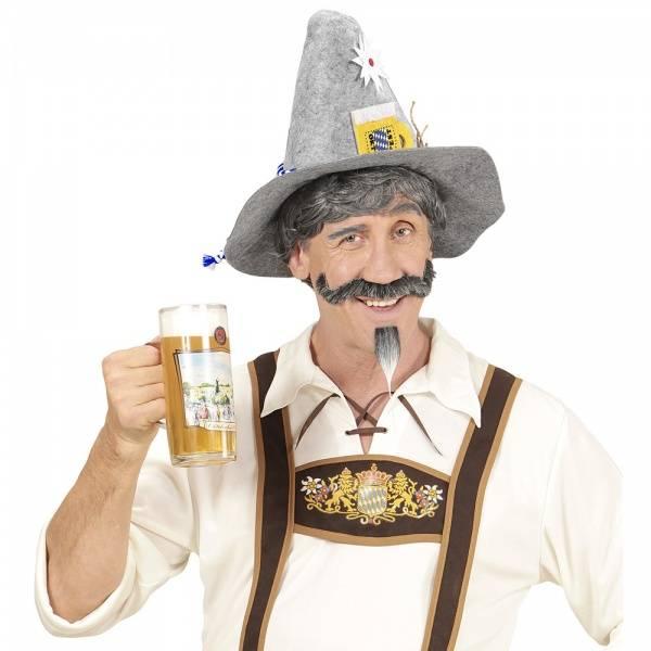 Grå Bavarian hatt
