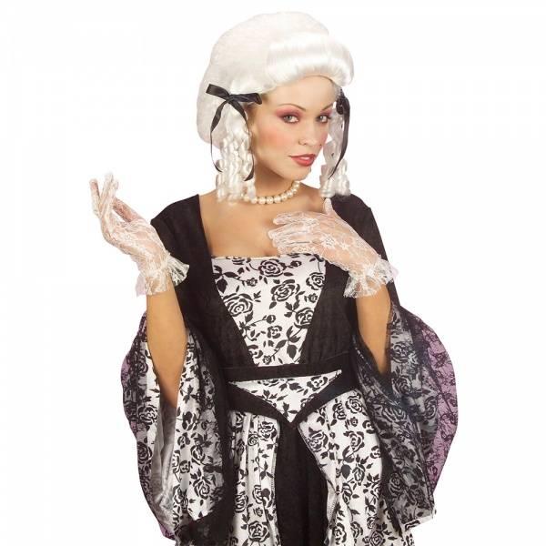 Barokk parykk dame