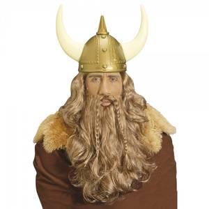 Bilde av Viking parykk, bart og skjegg
