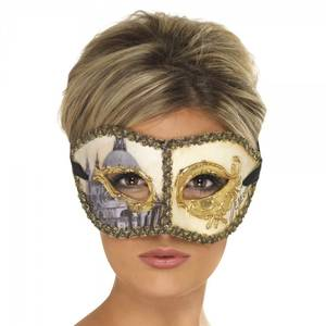 Bilde av Venetian Colombia maske