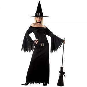 Bilde av Halloween Witch kostyme inkl.
