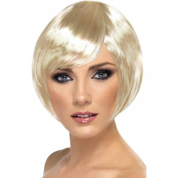 Babe blond parykk