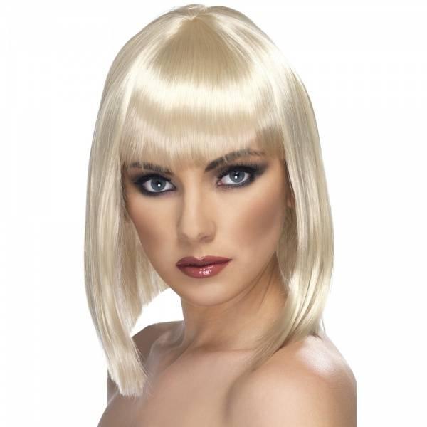 Glam parykk blond