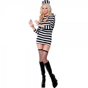 Bilde av Fange kostyme - Sexy fange