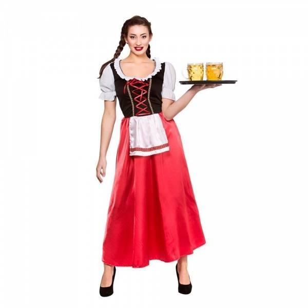 Bavarian Beer Wench kostyme