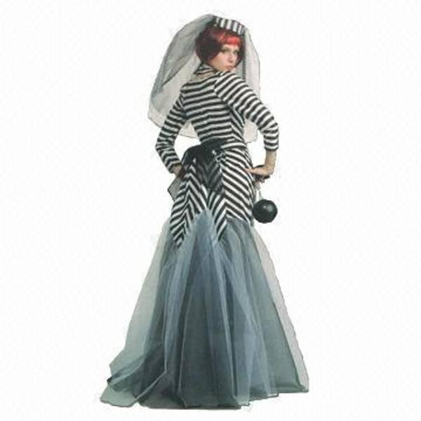 Prison Bride - kostyme