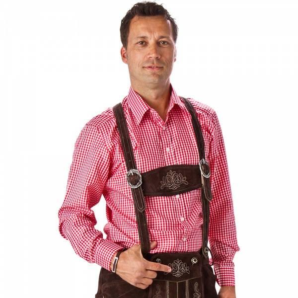 Tyroler skjorte - kostyme