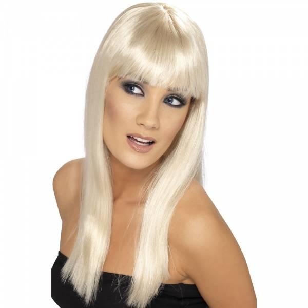 Glamourama blond parykk