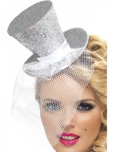 Bilde av Mini Flosshatt sølv