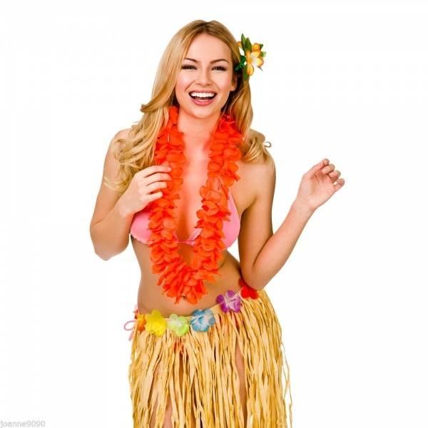 Hawaii krans orange