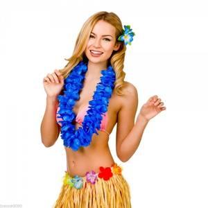 Bilde av Hawaii krans blå