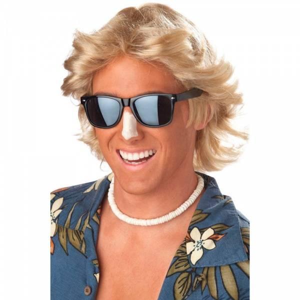 70's Feathered blond parykk