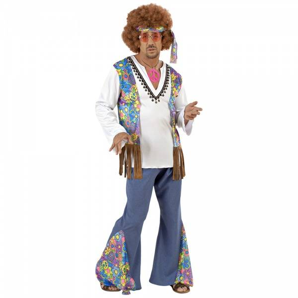 Woodstock Hippie Man - kostyme
