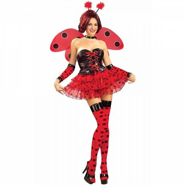 Deluxe Lady Bug kostyme