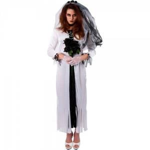 Bilde av Skeleton Bride kostyme