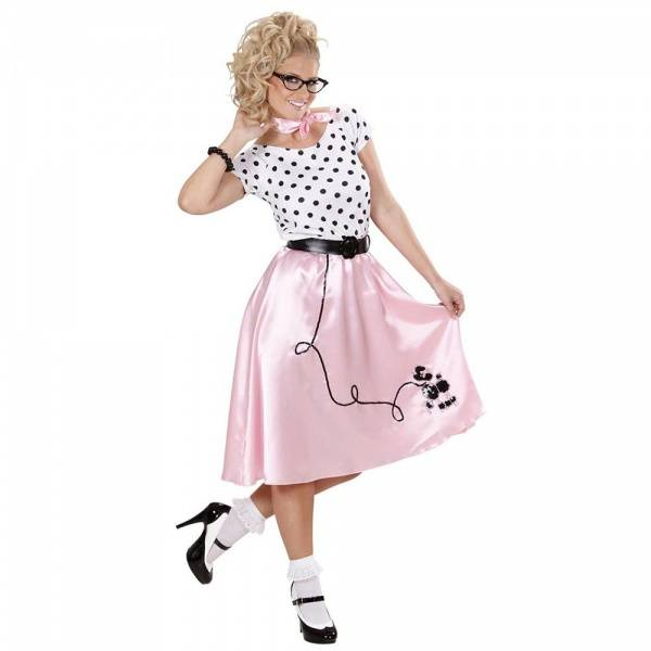 50's Girl kostyme