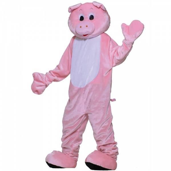 Rosa Gris Mascot kostyme