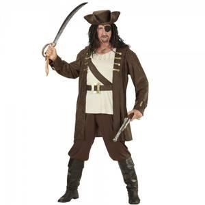 Bilde av Pirat herrekostyme