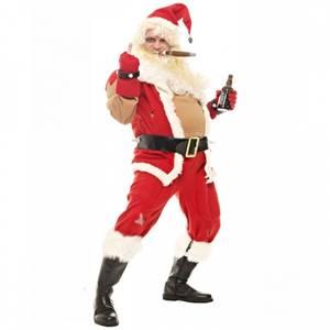 Bilde av Bad Santa - nissekostyme