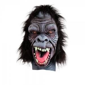 Bilde av Gorilla maske m. tenner