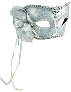 Bilde av White Venetian Maske