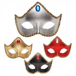 Bilde av Metallic domino maske