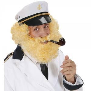 Bilde av Blond krøllete parykk og