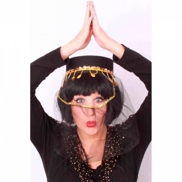 Arabisk hatt med slør