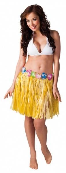 Hula hula kostyme - gult skjørt