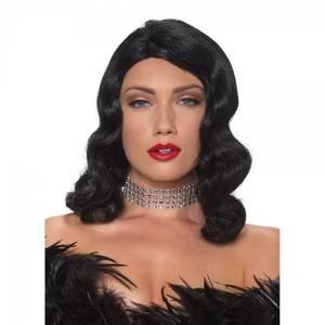 Bilde av Femme Fatale parykk svart