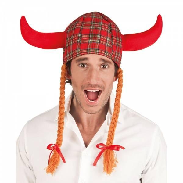 Tartan Viking Hatt