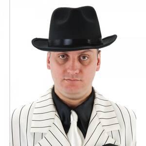 Bilde av Sort Gangster hatt  Deluxe