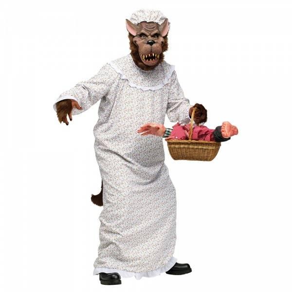 Bad Granny Wolf kostyme
